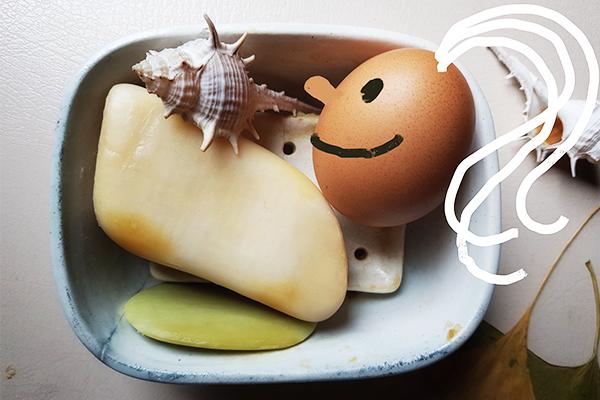 benodigdheden haar wassen met ei
